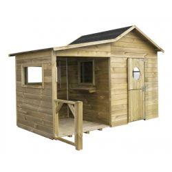 Domki do ogrodu | Drewniany Domek Ogrodowy dla Dzieci ELA od 4iQ - image | marSELL24.eu