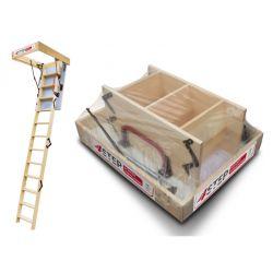 Schody strychowe | Schody Strychowe EXTRA 46mm, 100x80 80x100 +GRATIS - image | marSELL24.eu