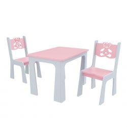 Meble dla dzieci | Dwa Krzesełka i Stolik dla dziecka Producent Miś - image | marSELL24.eu