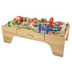 Zabawki | Kolejka Tomek - zestaw drewniany - image | marSELL24.eu
