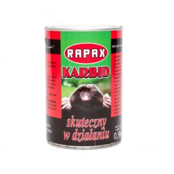 Odstraszanie szkodników | Karbid na krety - odstraszacz kretów i nornic 900 g RAPAX - image | marSELL24.eu