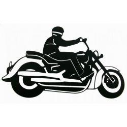 Naklejki | NAKLEJKA CHOPPER CRUISER B ORYG. SAMOCHÓD MOTOCYKL - image | marSELL24.eu