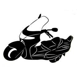 Naklejki | NAKLEJKA MAXISKUTER NA SAMOCHÓD MOTOCYKL SKUTER - image | marSELL24.eu