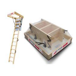 Schody strychowe | Schody Strychowe 4STEP: EXTRA 46mm, 90x60 60x90 - image | marSELL24.eu