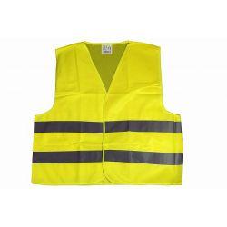 Pozostałe | Kamizelka odblaskowa kolor żółty dziecięca L - image | marSELL24.eu
