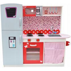 Kuchnie | Kuchnia Drewniana dla Dzieci ANETA + POWER LED - image | marSELL24.eu