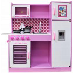 Kuchnie | Kuchnia Drewniana dla Dzieci Nikola + POWER LED - image | marSELL24.eu