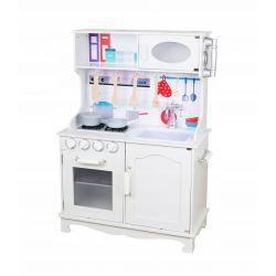 Kuchnie | Tradycyjna Drewniana Kuchnia dla Dzieci ADA +LED - image | marSELL24.eu