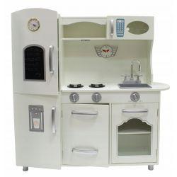 Kuchnie | Du�a Drewniana Kuchnia dla Dzieci KAJA +LED GRATIS - image | marSELL24.eu