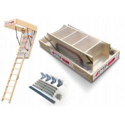 Schody strychowe | Schody Strychowe EXTRA 46 mm,130x80 + MOCOWANIA - image | marSELL24.eu