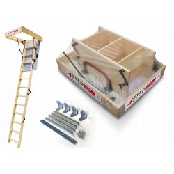 Schody strychowe   Schody Strychowe EXTRA 46mm 100x70 + MOCOWANIA - image   marSELL24.eu