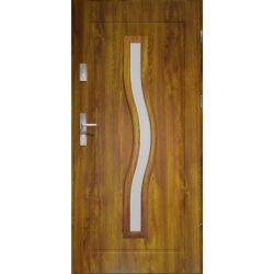 Drzwi zewnętrzne | Drzwi Zewn�trzne CERES- LAKOMAT Z�OTY D�B 90P PVC - image | marSELL24.eu