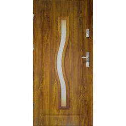 Drzwi zewnętrzne | Drzwi Zewn�trzne CERES- STOPSOL Z�OTY D�B 90L PVC - image | marSELL24.eu