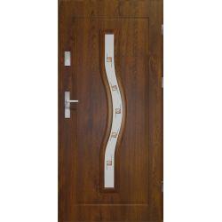 Drzwi zewnętrzne | Drzwi Zewn�trzne CERES- WITRA� C. ORZECH 90P PVC - image | marSELL24.eu