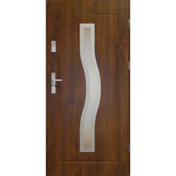 Drzwi zewnętrzne | Drzwi Zewn�trzne CERES-STOPSOL C. ORZECH 80P INOX - image | marSELL24.eu