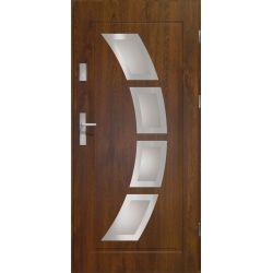 Drzwi zewnętrzne   Drzwi Zewnętrzne STOPSOL HERMES 90P C.ORZECH INOX - image   marSELL24.eu