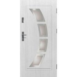 Drzwi zewnętrzne | Drzwi Zewn�trzne HERMES STOPSOL INOX 90P BIA�E - image | marSELL24.eu