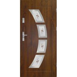 Drzwi zewnętrzne | Drzwi Zewn�trzne WITRA� -HERMES 90P C.ORZECH INOX - image | marSELL24.eu