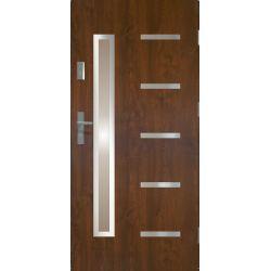 Drzwi zewnętrzne | Drzwi Zewn�trzne STOPSOL - JUVENTUS 90P C. ORZECH - image | marSELL24.eu