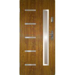 Drzwi zewnętrzne | Drzwi Zewn�trzne STOPSOL - JUVENTUS 80L Z�OTY D�B - image | marSELL24.eu