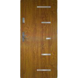 Drzwi zewnętrzne | Drzwi Zewnętrzne SPARTA 80P ZŁOTY DĄB PRODUKT PL - image | marSELL24.eu