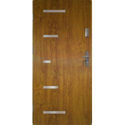 Drzwi zewnętrzne | Drzwi Zewn�trzne SPARTA 80L Z�OTY D�B PRODUKT PL - image | marSELL24.eu