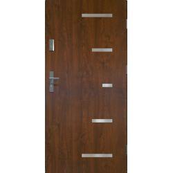 Drzwi zewnętrzne | Drzwi Zewn�trzne SPARTA 80P C.ORZECH PRODUKT PL - image | marSELL24.eu