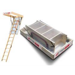 Schody strychowe | Schody Strychowe ENERGY 32mm 70x120 120x70 +GRATIS - image | marSELL24.eu