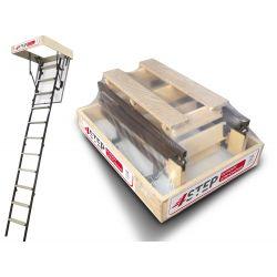 Schody strychowe | Schody Strychowe MINI Stallux 80x60 32mm 1,2W/m2 - image | marSELL24.eu