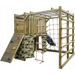 Place zabaw | Plac zabaw Cubic Omega 225x447 wys.210 cm Kostka - image | marSELL24.eu