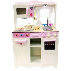 Kuchnie | Drewniana Kuchnia dla Dzieci HANIA + LED GRATIS - image | marSELL24.eu