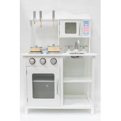 Kuchnie | Drewniana kuchnia dla dzieci BEATA + POWER LED - image | marSELL24.eu
