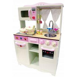 Kuchnie | Drewniana Kuchnia dla Dzieci HANIA + AKCESORIA - image | marSELL24.eu