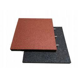 Płytki podłogowe | Bezpieczna nawierzchnia amortyzująca gumowa 4cm - image | marSELL24.eu