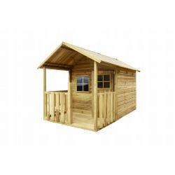Domki | BLANKA Drewniany Domek Ogrodowy Dla Dzieci od 4iQ - image | marSELL24.eu