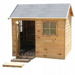 Domki | Drewniany Domek dla Dzieci WITEK od 4iQ - image | marSELL24.eu