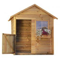 Domki | Drewniany Domek Ogrodowy Dla Dzieci Mateusz - image | marSELL24.eu