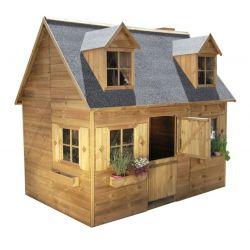 Domki | Drewniany Domek Ogrodowy Dla Dzieci Maria - Pi�tro - image | marSELL24.eu