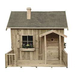 Domki | Drewniany Domek Ogrodowy Dla Dzieci Maja z werandą - image | marSELL24.eu