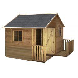 Domki | Drewniany Domek Ogrodowy Dla Dzieci MARCIN od 4iQ - image | marSELL24.eu