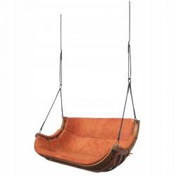 Huśtawki | Podwójny Wieszany Fotel Alpha Terracota - image | marSELL24.eu