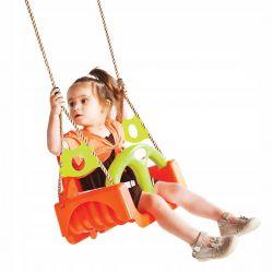 Huśtawki | Huśtawka siedzisko 3w1 rosnące z dzieckiem Orange - image | marSELL24.eu