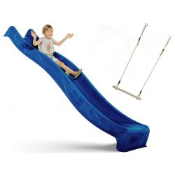 Place zabaw | �lizg Zje�d�alnia Wodna 3 metr Kolor Niebieski KBT - image | marSELL24.eu