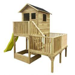 Domki | Domek Ogrodowy Dla Dzieci Hubert + Ślizg 2,5 m !!! - image | marSELL24.eu