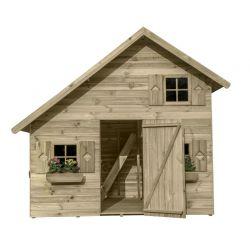 Domki | Drewniany Domek Ogrodowy Dziecięcy AMELIA piętro! - image | marSELL24.eu