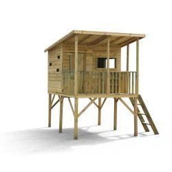 Domki | Drewniany Domek Ogrodowy Dla Dzieci ROBINSON - image | marSELL24.eu
