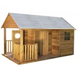 Domki | Drewniany Domek Ogrodowy Dla Dzieci SZYMON DUŻY!!! - image | marSELL24.eu