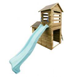 Domki | Drewniany Domek Ogrodowy Dla Dzieci Robert + Ślizg - image | marSELL24.eu