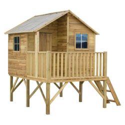 Domki | Drewniany Domek Ogrodowy Dla Dzieci JERZYK - image | marSELL24.eu