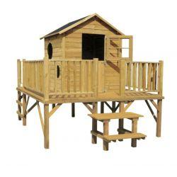 Domki | Drewniany Domek Ogrodowy dla Dzieci MACIEJ - image | marSELL24.eu
